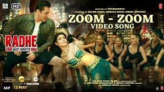 Zoom Zoom Lyrics – Radhe | Salman Khan