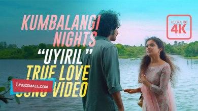 Photo of Uyiril Thodum Lyrics | Kumbalangi Nights Movie Songs Lyrics