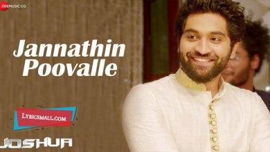 Photo of Jannathin Poovalle Lyrics | Joshua Malayalam Movie Songs Lyrics