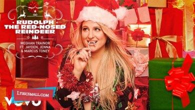 Photo of Rudolph The Red-Nosed Reindeer Lyrics | Meghan Trainor | Jayden, Jenna & Marcus Toney
