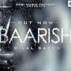 Baarish lyrics bilal saeed