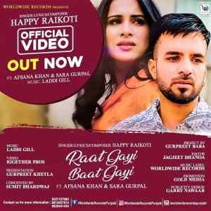 Raat Gayi Baat Gayi Lyrics Happy Raikoti