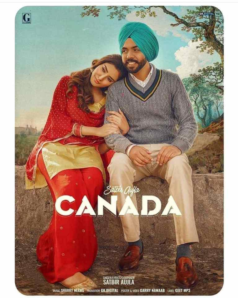 Canada Lyrics Satbir Aujla