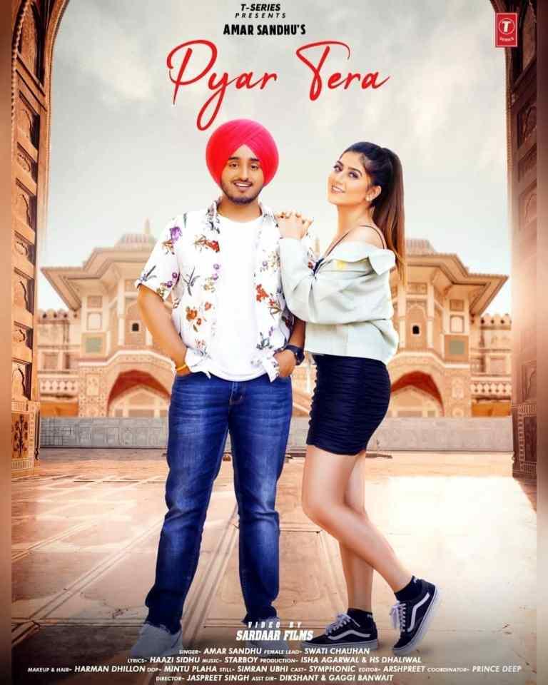 Pyar Tera Lyrics Amar Sandhu