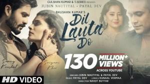 Dil Lauta Do love songs lyrics