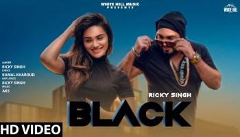 Black Lyrics - Ricky Singh | Sakshi Dwivedi