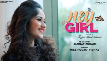Hey Girl Lyrics - Vibhas | Jannat Zubair Rahmani, Paras Mehta