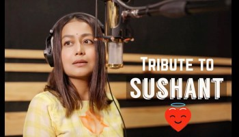 Tribute to Sushant Singh Rajput Lyrics - Neha Kakkar