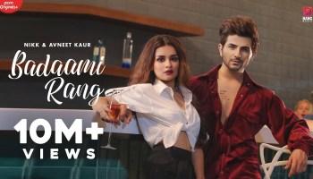 Badaami Rang Lyrics - Nikk | Avneet Kaur