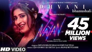 Nayan Lyrics - Dhvani Bhanushali | Jubin Nautiyal