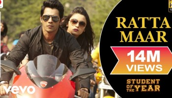 Ratta Maar Lyrics - Student of the Year | Shefali Alvares, Vishal Dadlani