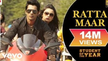 Ratta Maar Lyrics - Student of the Year | Shefali Alvares, Vishal Dadlani
