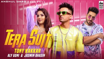 Tera Suit Lyrics - Tony Kakkar | Aly Goni, Jasmin Bhasin