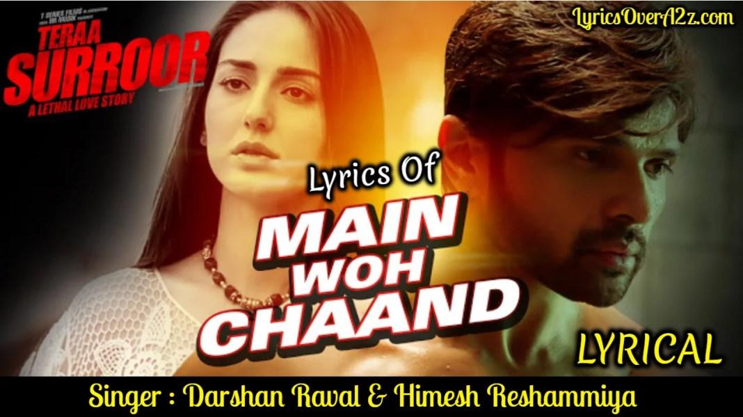 Main Woh Chaand - Teraa Suroor   Darshan Raval
