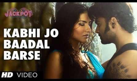 kabhi jo badal barse lyrics | Arijit Singh