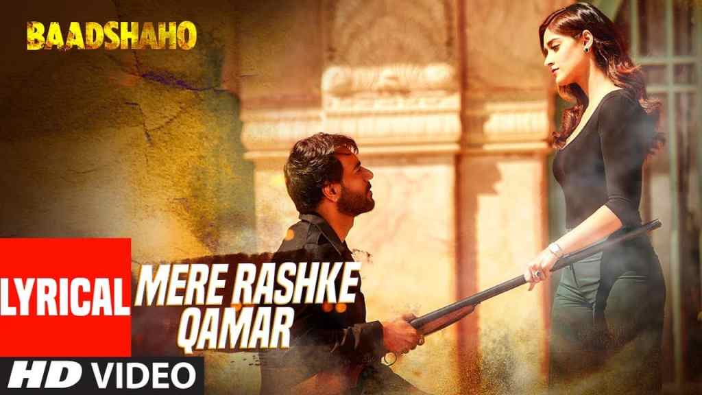mere rashke qamar lyrics Hindi Rahat Fateh Ali Khan