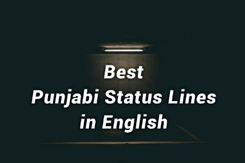 Punjabi Status Lines | Best Punjabi Lines in English > LyricsStatus com