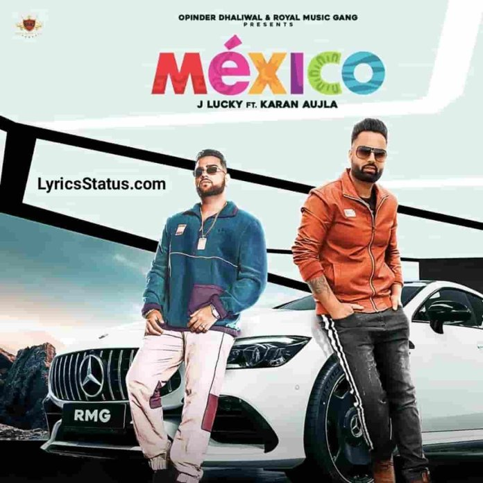 J Lucky Mexico Karan Aujla Lyrics status download punjabi song Party karan Mexico jayi da  Vailpuna kara vailiyan de town ch black background status