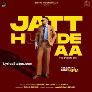 Jatt Hunde Aa Prem Dhillon Lyrics Status Download Punjabi Song Jatt Hunde Aa Ni Kude Jatt Hunde Aa whatsapp status Black Background video