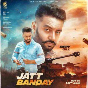 Jatt Bande Sippy Gill Lyrics Status Download Punjabi Song Ajj vi aa ohi ballya Number te yaar ni badle whatsapp status video Black Background.