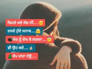 Chehre Kde Sach Ni Dasde Sad Punjabi Status Download Chehre kde sach ni dasde hunde jnaab Mor nu dekh ke lagda vi oh kde sapp khanda hoyu
