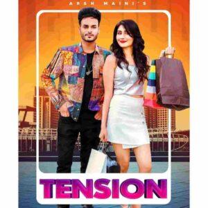 Afsana Khan Tension Arsh Maini Lyrics Status Download Punjabi Song Mitran hunde tusi maalko Tension na koyi laini ae whatsapp status video