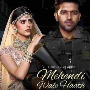 Guru Randhawa Mehendi Wale Haath Lyrics Status Download Hindi Song Mehndi wale hath wo tere payal wale panv WhatsApp status video black.