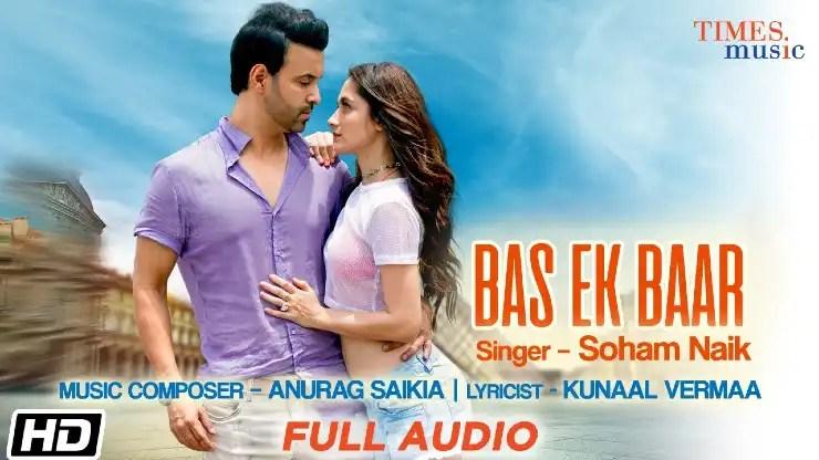 Bas Ek Baar lyrics in Hindi