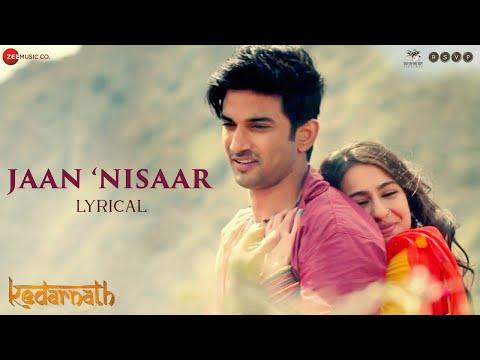 Jaan Nisaar Lyrics - Arijit Singh