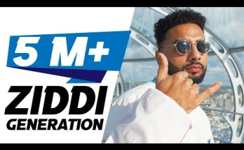 ZIDDI GENERATION Lyrics - Navaan Sandhu
