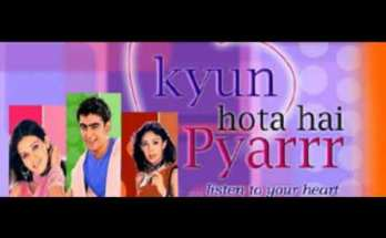 Kyun Hota Hai Pyarrr Title Song Star Plus