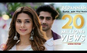 Bepannah Title Song Lyrics - Colors TV (2018)