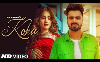 Koka Lyrics - Teji Pannu Ft Seerat Bajwa
