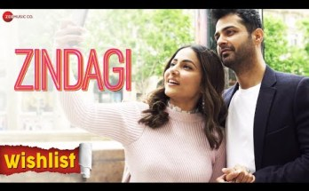 Zindagi Lyrics - Wishlist | Hina Khan