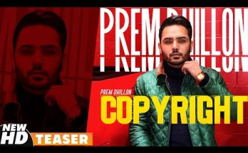 Copyright Lyrics - Prem Dhillon