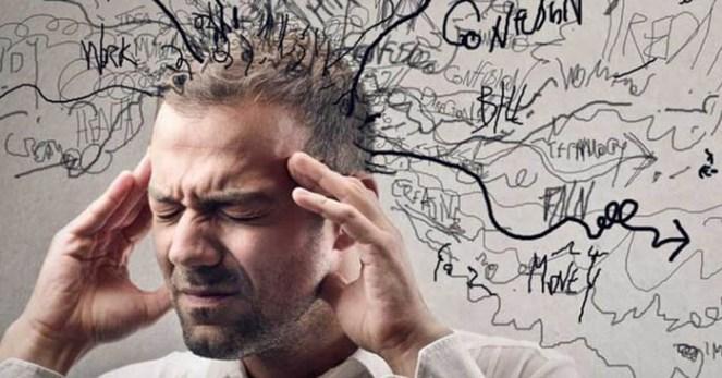 Homem com Transtorno de Ansiedade Generalizada