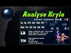 Analyse de Kryla sur FFBE Global