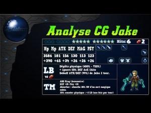Analyse de Jake, Tireur Anonyme sur FFBE Global