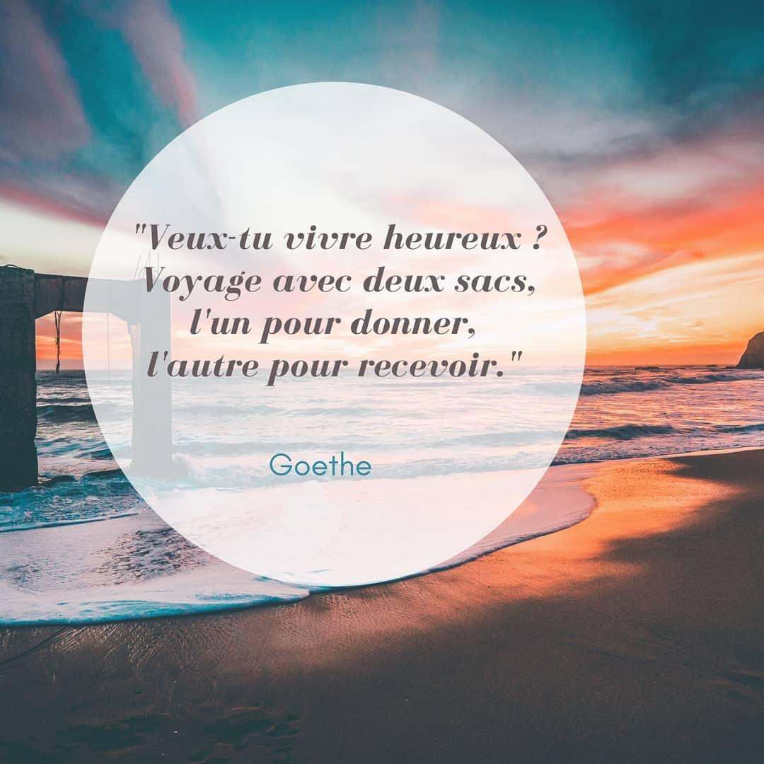 Citation de Goethe
