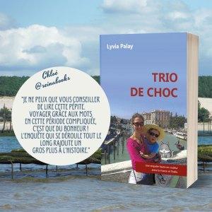 Retour de lecture de Chloé Seina Books pour Trio de choc