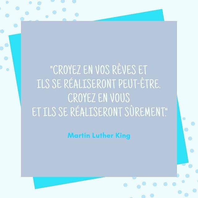 Croyez en vos rêves de Martin Luther King