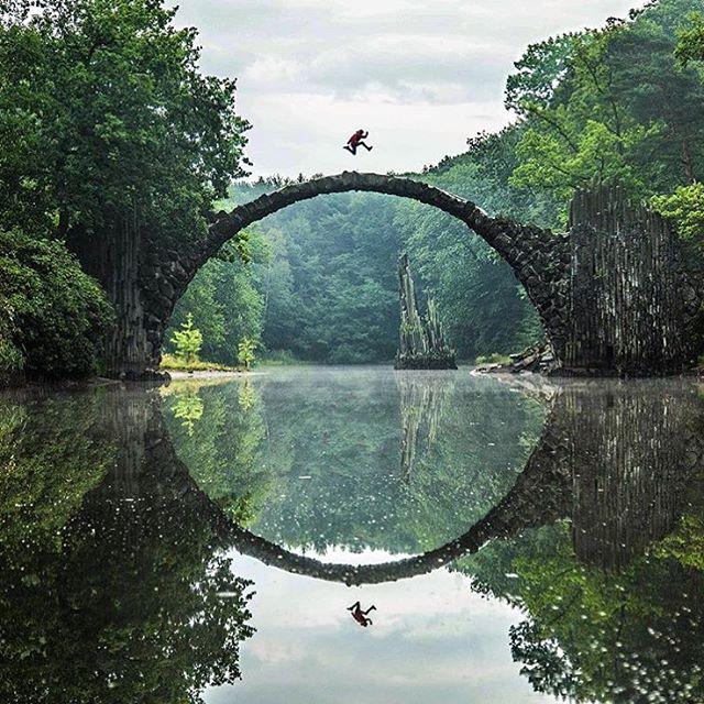 Peunte Rakotzbrücke