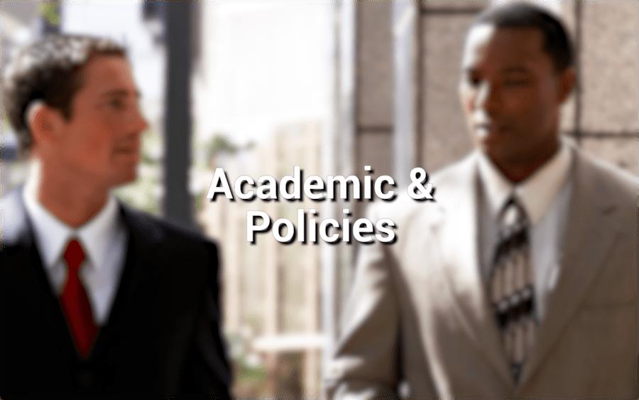 Academic & Policies