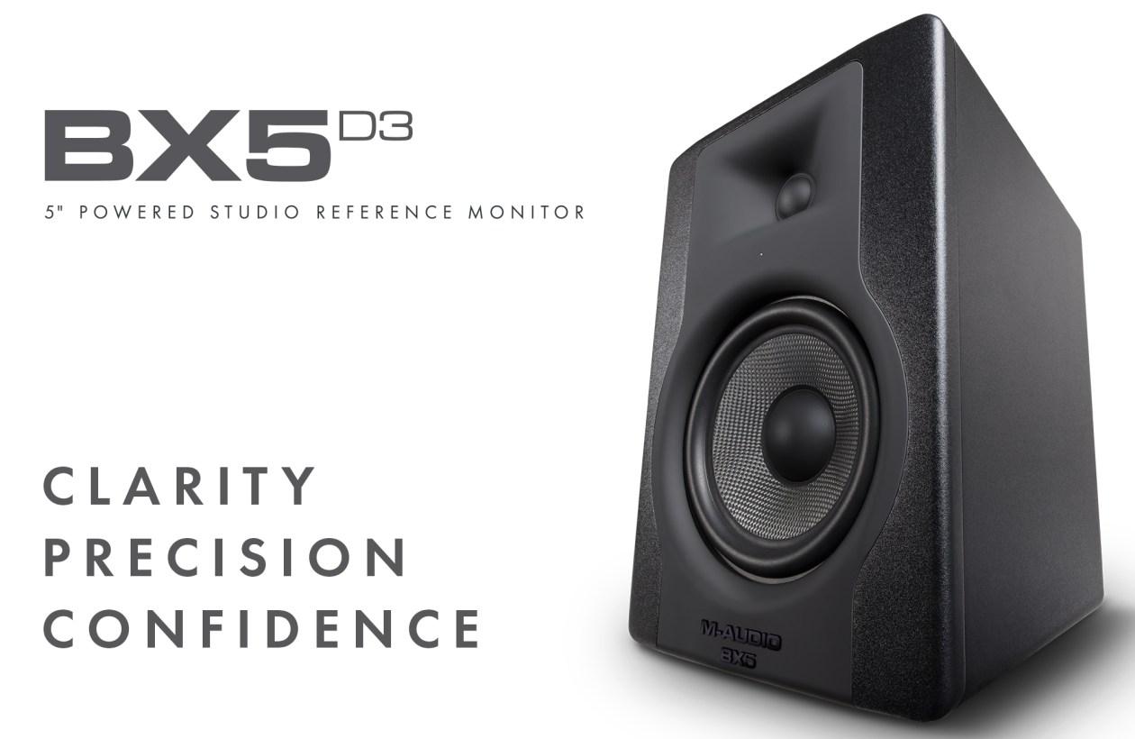 monitor de referencia m audio bx5