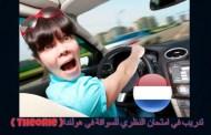 اختبار 1: تدريب في امتحان النظري للسواقة في هولندا ( Theorie ) الإشارات