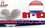 نموذج 4 :   نموذج للتدريب على إمتحان القراءة Staatsexamen B1 - B2