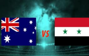 رياضة : البث المباشر لمباراة إستراليا VS سوريا