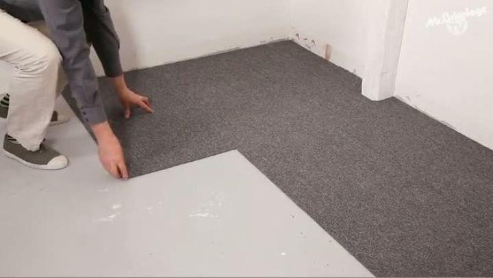 la moquette en dalles pose avantages