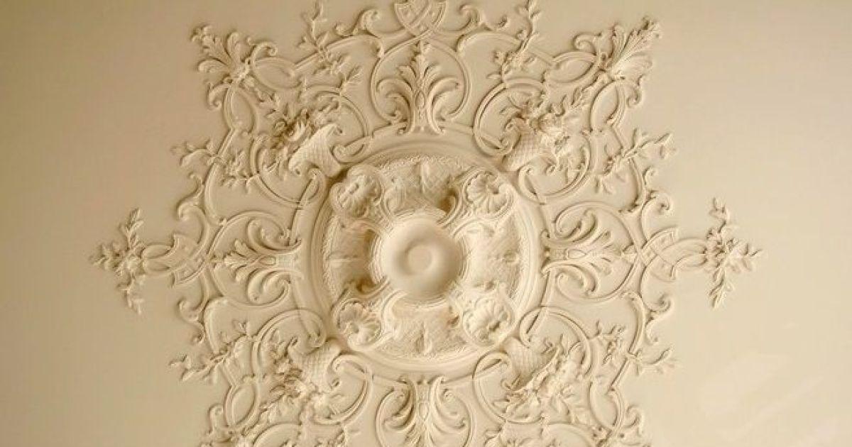 Les Rosaces De Plafond Dcorer Et Donner Du Relief Au
