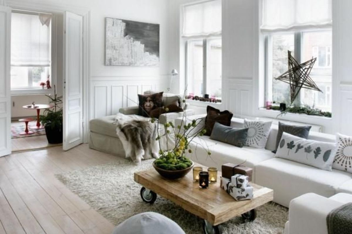 un salon a la deco d inspiration scandinave